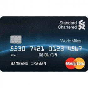 Kartu Kredit Si Penyuka Traveling, Standard Chartered World Miles
